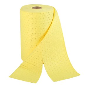 Chemical Spill Absorbent Rolls, 380mm x 46m Perforated