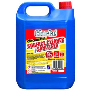 Clarke Clarke CS2 Surface Cleaner/Sanitiser 5 Litre - Concentrated Refill