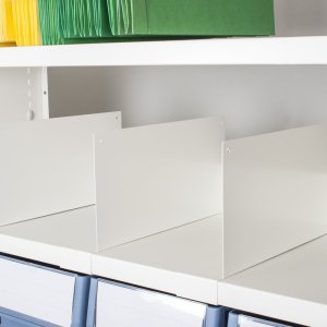 Delta Plus Shelving Fixed Height Dividers 300 h x 400 w