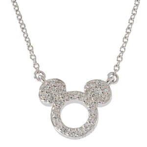 Disney Mickey Mouse Sterling Silver Necklace