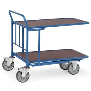 Double Ply Deck Cash And Carry Trolley 1000 x 700mm - 500kg Capacity