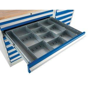 Drawer Dividers for Euroslide 900 Cabinets, ESDINSERT91B