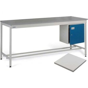 ESD Workbench with Lamstat Worktop 1500w x 750d Bench
