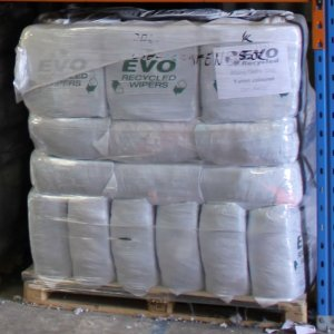 EVO Recycled Absorbent Spill Cleaning Rags - PALLET T Shirts coloured cloths