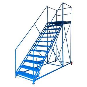 Easy Slope 9 Safety Steps 1000mm wide treads 1943mm high platform