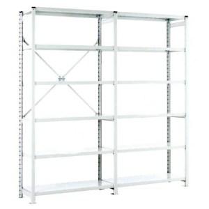 Euro Shelving Open Bay - 6 shelf Starter 1800h x 1000w x 600d