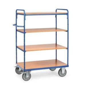 Heavy Duty Shelf Trolley 4 Tier 1000 x 700 x 1800mm High