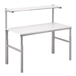 Height Adjustable ESD Workbench Allen Key 700x1500 Worktop inc Shelf