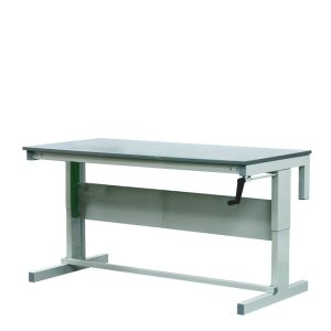 Height Adjustable Workbenches with MFC Top 1500w x 750d Bench