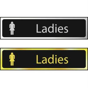 Ladies - Sign CHR (200 x 50mm)