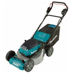 Makita Makita DLM530PT4 Brushless Steel Deck Lawn Mower 53cm (with 4 x 5.0Ah Batteries and DC18RD Twin Port Charger)