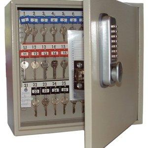 Mechanical Push Button Digital Key Cabinets - 50 key capacity DEEP