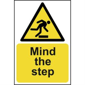 Mind The Step - Sign - PVC (200 x 300mm)