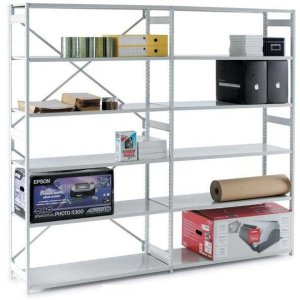 Mono Shelving Extension Bay - 1850h x 1000w x 450d 6 Shelves