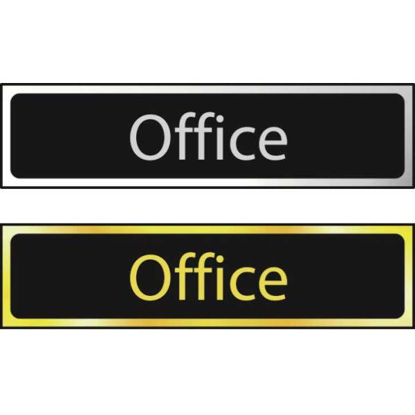 Office - Sign POL (200 x 50mm)