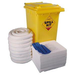 Oil & Fuel Emergency Spill Kits - 240 litre Drum Large Workshop Kit
