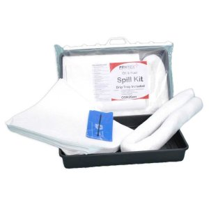 Oil & Fuel Spill Kit with drip tray included - 40 Litre