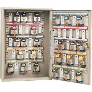 Padlock Storage Cabinet for 25 Padlocks & Keys