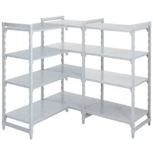 Polypropylene Shelving 300 deep 4x Solid Shelves 1580 wide Starter Bay