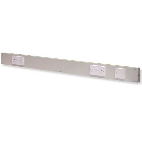 Post Electrical Service Ducts for 1500 w BA/BC/BE/BQ/BS Workbenches