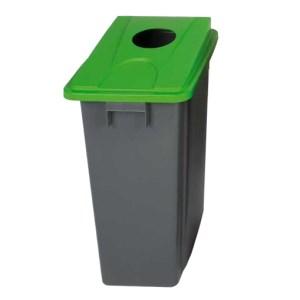 Slim Bin Recycling Bin 60L - Grey