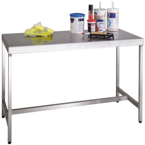 Stainless Steel Workbenches 1500 x 750 with lower shelf
