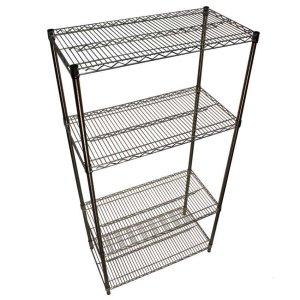 Stainless steel Wire Shelving - 4 Shelves 1520w x 460d Starter Bay