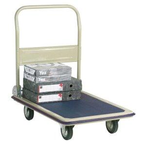 Steel Economy Folding Trolley with PVC base 470w x 730 L 150kg cap