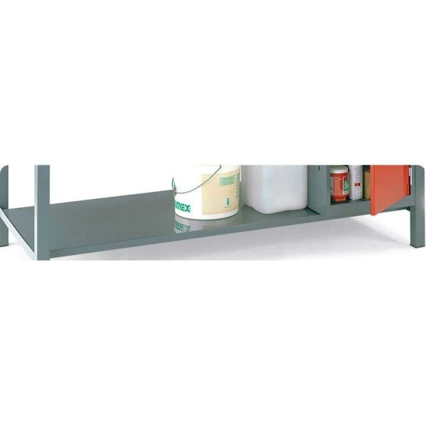 Steel Lower Shelf for Engineers Workbench 1800w x 600d bench