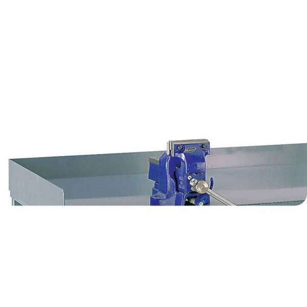 Steel Retaining Lip for Engineers Workbenches 75h for 1800w x 900d
