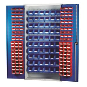 Topstore Louvred Panel Cabinet 013088