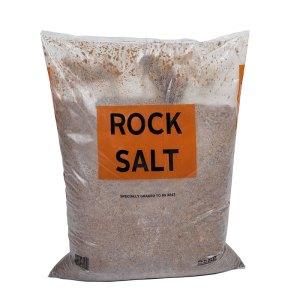 BROWN ROCK SALT 25kg BAG 21 BAGS