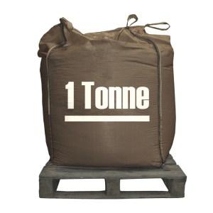 Bulk Pallet of Brown Rock Salt for De-icing One Tonne