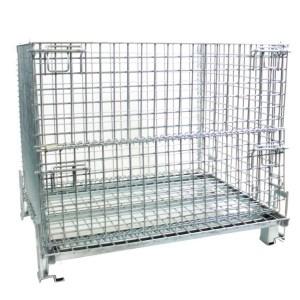 H/D Folding Cage Pallets 1200kg cap 850h x 1000w x 800d
