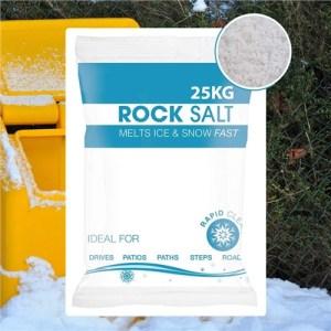 Hadley White De-Icing Rock Salt - 5KG