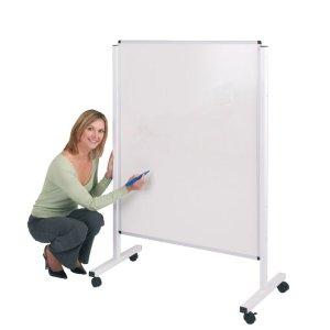 Height Adjustable Mobile Whiteboard 1500x1200