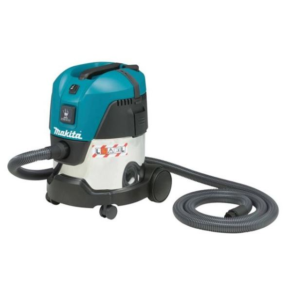 Makita VC2012L L-Class Wet & Dry Vacuum with Power Tool Take Off 240V 1000W