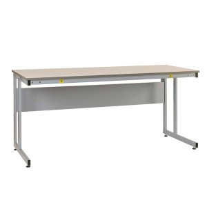 Manufacturing Cantilever Workbenches, ESD laminate top, 840 x 1800 x 600