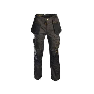 Roughneck Clothing Black & Grey Holster Work Trousers Waist 36in Leg 31in