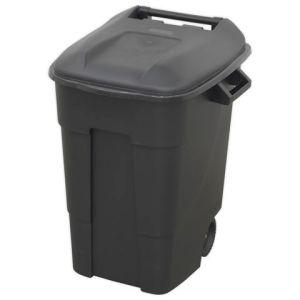 Sealey Sealey BM100 Refuse/Wheelie Bin 100L - Black