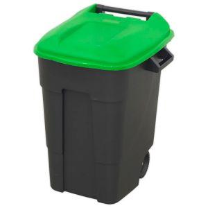 Sealey Sealey BM100G Refuse/Wheelie Bin 100L - Green