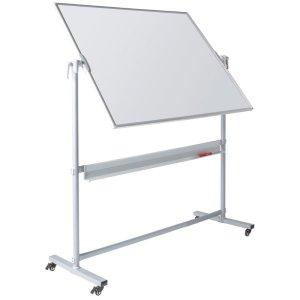 Write On® Revolving Whiteboard - 1200 x 1800mm (HxW) - Magnetic