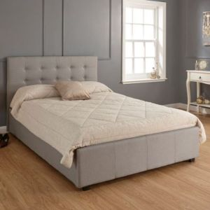 Regal King Size Ottoman Bed Grey