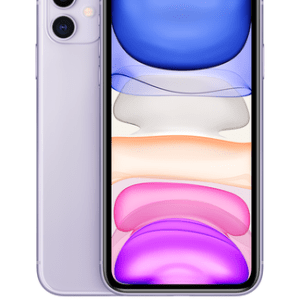 Apple iPhone 11 64GB Purple at £29 on Unlimited Lite (24 Month contract) with Unlimited mins & texts; Unlimited 5G data. £58 a month.