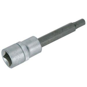 """Sealey AK657 Hex Socket Bit 7mm Long 1/2""""sq Drive"""