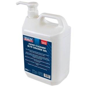 Sealey SHCO5L Hand Cleaner 5L Orange Gel