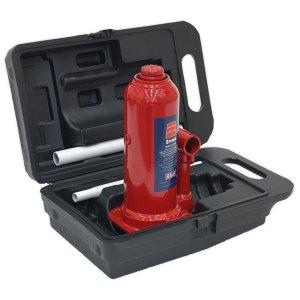 Sealey SJ5BMC Bottle Jack Yankee 5tonne with Carry-case