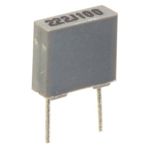 1000pF 5% 100V 5mm Pitch Faratronic Polyester Film Capacitor