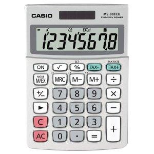 Casio MS-88ECO Desktop Calculator (Currency Conversion) ECO