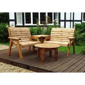 Charles Taylor Corner 4 Seat Garden Furniture Set
